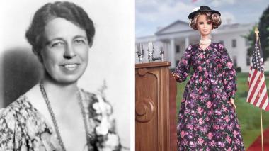 """Eleanor Roosevelt es la nueva Barbie """"inspiradora"""""""