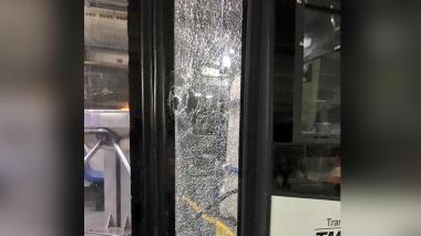 Nuevos actos de vandalismo contra buses de Transmetro