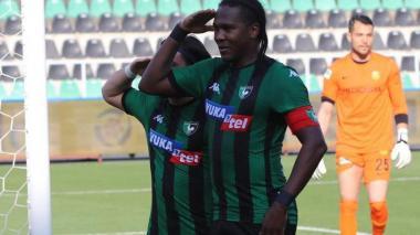 En video | Hugo Rodallega anotó golazo de tiro libre con el Denizlispor