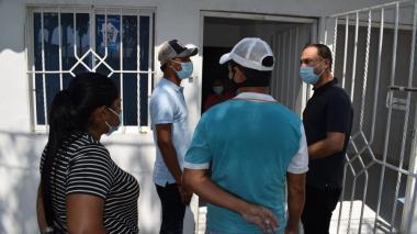 En Galapa entregaron viviendas a afectados por obras de la Cordialidad