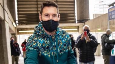 Leo Messi vota en las elecciones presidenciales del Barcelona