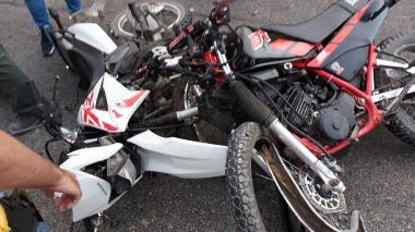 Choque de motos en la vía Polonuevo - Santo Tomás: dos muertos
