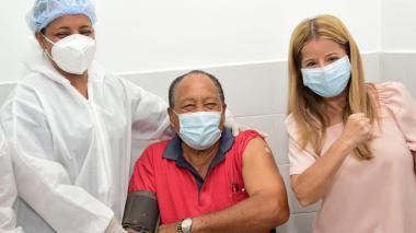 En el Atlántico serán vacunados 18 mil adultos mayores de 80