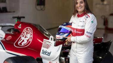 """""""El género no importa cuando uno está montado en el carro"""": Tatiana Calderón"""
