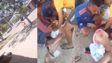 Una mujer resulta baleada en disturbios en La Retirada, Ponedera