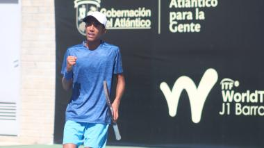 Raquetas colombianas, listas para el Mundial Juvenil de Tenis en Barranquilla