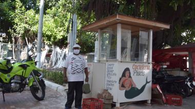 Cocteleros de Cartagena se trasladan a la plazoleta Joe Arroyo