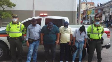 Capturan a padre e hijo por hurto: tenían 42 anotaciones judiciales