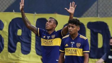 El gol de Sebastián Villa no le alcanzó a Boca ante River