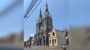 Iglesia San Roque, otro bien patrimonial que se cae a pedazos