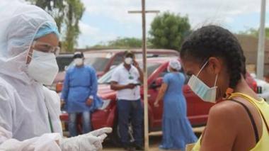 Alerta Verde en La Guajira por la variante brasileña de covid-19