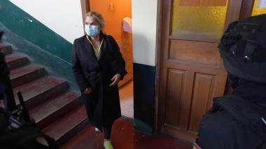Trasladan a la expresidenta de Bolivia a un centro carcelario