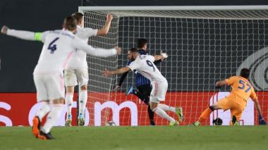 Real Madrid 3, Atalanta 1: los de Zidane recuperan la autoridad