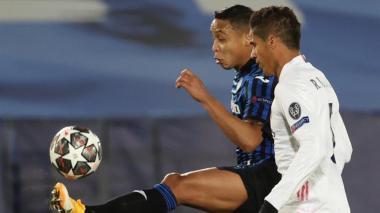 La reacción de Muriel tras la eliminación del Atalanta ante Real Madrid