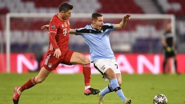 Bayern Múnich 2, Lazio 1: los alemanes están en cuartos de Champions