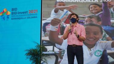 Alcalde Pumarejo destaca apoyo dado por el BID a Barranquilla