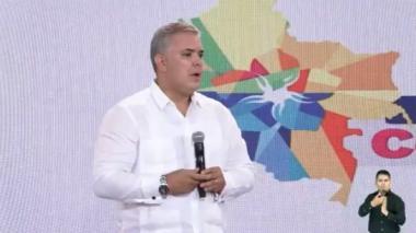 """""""Colombia va a acelerar la digitalización de su justicia"""": Duque"""