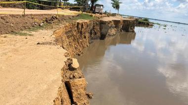 Con tutela buscan agilizar obra para solucionar erosión en Salamina