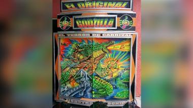 Con engaños se robaron el famoso picó 'Godzilla'