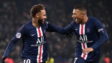 Neymar y Mbappé son los jugadores mejor pagados en Francia
