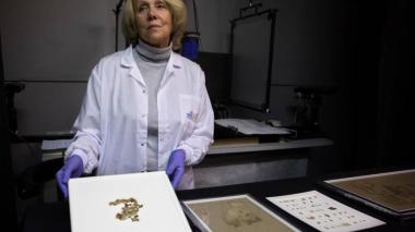 Descubren nuevos fragmentos de rollo bíblico milenario del Mar Muerto