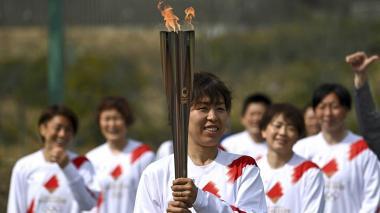 Se encendió la antorcha Olímpica de Tokio 2020