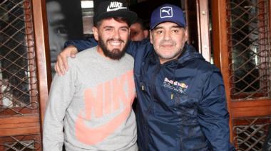 """""""Mi padre no fue solo fútbol, fue alegría en la vida"""": Maradona junior"""