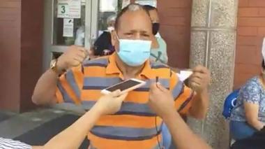 """""""Que no muera más gente inocente"""": esposo de mujer asesinada en atraco"""