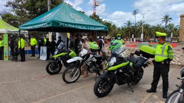 1.800 uniformados para la seguridad en La Guajira durante Semana Santa