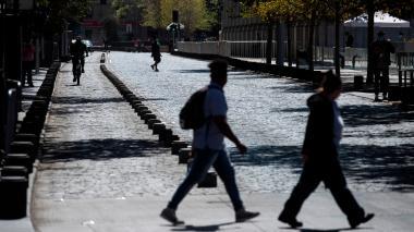 16 millones de chilenos entraron en confinamiento