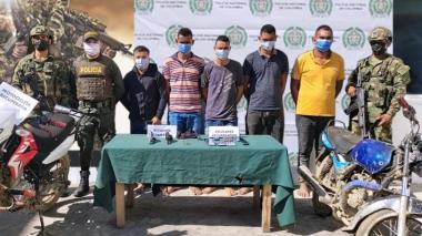 Capturan a cinco hombres armados en Majagual, Sucre