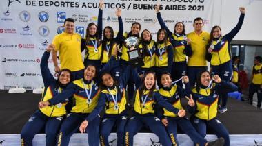 Colombia, Brasil y Argentina copan el podio del torneo Sudamericano