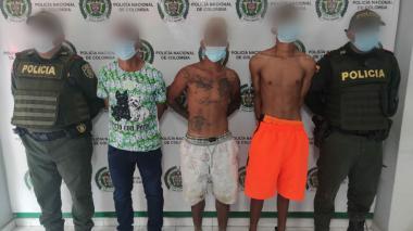 En Montería capturan a tres personas por agredir a un policía