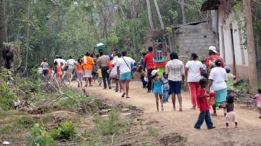 Desplazamientos: los tres focos en Colombia