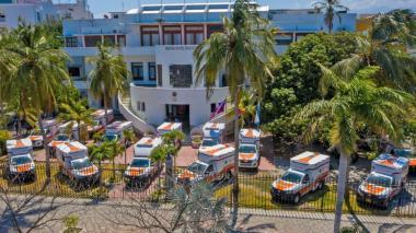 Con 39 ambulancias fortalecen red hospitalaria del Magdalena