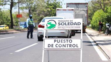Tránsito de Soledad lanza plan de movilidad Semana Santa con mayores cuidados
