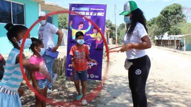 Clemencia, Bolívar, quiere recuperar juegos tradicionales en Mes del Niño