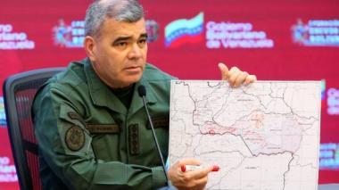 Venezuela confirma 8 militares muertos en combates en frontera con Colombia