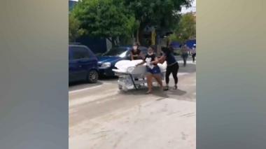 Familiares sacan cadáver de hospital en Fundación, Magdalena