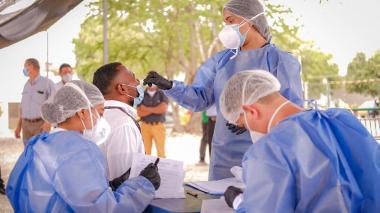 Cartagena refuerza pruebas covid y alista expansión hospitalaria