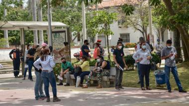 Usuarios piden celeridad en toma de prueba covid en Barranquilla