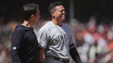 Giovanny Urshela entró a lista de lesionados de los Yankees de Nueva York