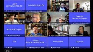 """El regaño a exfiscal Montealegre por sugerir """"coordinación"""" entre partes"""