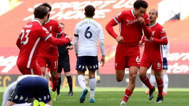 Liverpool venció a el Aston Villa