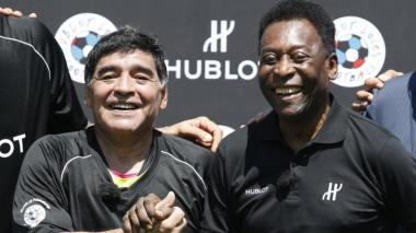 Pelé sobre Diego Armando Maradona