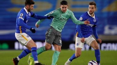 Everton empata ante el Brighton