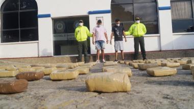 Incautan droga y capturan a dos en Montería