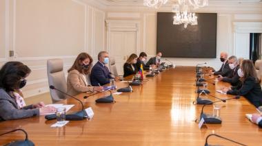 Seguridad: encuentro entre Duque y asesor de Biden