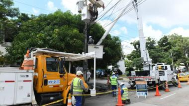 Tres barrios de Barranquilla estarán sin energía este martes