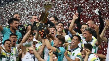 Defensa y Justicia ganó la Recopa Sudamericana